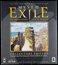 Myst III Exile Collectors Edition Sealed Ubi Soft Windows Macintosh PC Apple