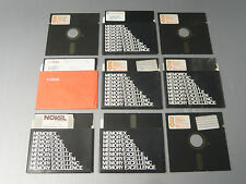 memorex mini flexible disc, e commodore model 1541 , 9 pezzi RARISSIMI
