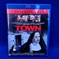The Town (Blu-ray/DVD, 2010, 2-Disc Set, Extended) Ben Affleck, Jeremy Renner