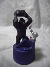 Pepsiman vs Giant Gorilla Figure Bottle Cap Pepsi Japan