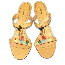 MARC JACOBS~NWOB~$330.00~LEATHER **COLORFUL CHARMS** SANDAL SHOES HEELS~9 (RARE)