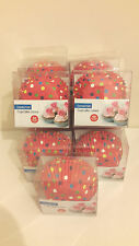 11 Packs of 60 Red Polkadot Muffin or Large Cup Cases by Eddingtons