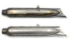 """AUSPUFF """"Fischschwanz"""", unlackiert, für Ural Dnepr K750 M72 CJ (Gespann Krümmer)"""