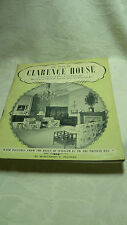 Vintage book of 'The Story of Clarence House' by Marguerite D. Peacocke