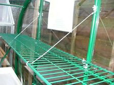 11 inch Greenhouse shelf - Foldaway SPEEDSHELF - Green