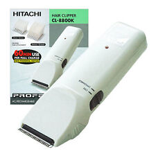 2Clippers HITACHI CL-8800K Professional Rechargeable Hair-Trimmer MADE IN JAPAN