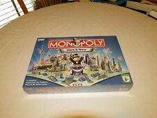 Monopoly Here & Now edition vintage RARE sealed but corner damage box board game