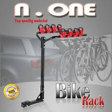 """BIKE RACK 4 BICYCLE REAR 1.25""""-2"""" HITCH MOUNT CARRIER CAR HEAVY DUTY FOR LAND"""