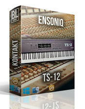 ENSONIQ TS12 TS 12 SAMPLE LIBRARY FOR KONTAKT LOGIC PRO X