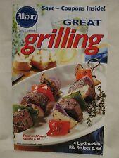 Pillsbury Great Grilling Classic Cookbook 4 Lip-Smakin' Rib Recipes Kabobs 2002