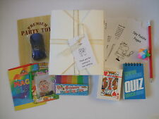 Boy's Filled Personalised Wedding Activity Box, Busy Bag - pack for children