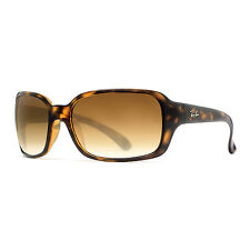 Ray Ban RB 4068 710/51 59mm Tortoise Brown Gradient Wrap Sunglasses