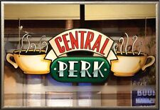 GQ496 FRIENDS - CENTRAL PERK WINDOW POSTER - 24x36 TV SHOW COFFEE SHOP