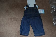 Denim Overall Doll Outfit by Lee Middleton for 19 to 20 Inch Dolls New