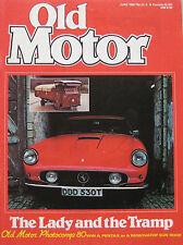 Old Motor 06/1980 featuring Ferrari 410 Superamerica, Datsun 240Z, Mercedes