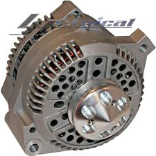 100% NEW ALTERNATOR FORD MUSTANG,1965-96,HOT ROD,BILLET PULLEY,1 ONE WIRE 130AMP