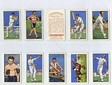 Full Set, Gallaher, Champions, 2nd Series 1935 VG-EX (Ga3146-408)
