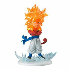 Dragon Ball Z Ultimate DeskTop Figure SD Super Saiyan SS4 Goku Assembly @3103