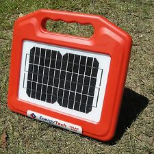 Don't settle for less! BEST 7KM Electric Fence SOLAR Energiser & Battery Charger