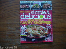 Taste Of Home Simple & Delicious Magazine March/April 2009
