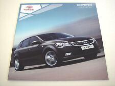 Kia . Ceed . 5-Door Hatchback and SW Models . 2010 Sales Brochure