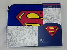 "Superman Blue, Red, & Yellow 10"" Neoprene Tablet Sleeve"