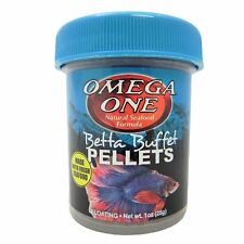 Omega One* Betta Buffet Pellets Betta Food 28  g