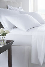 400 Thread Egyptian Cotton Satin Hotel Quality Fitted Sheets Flat Sheets Pillow