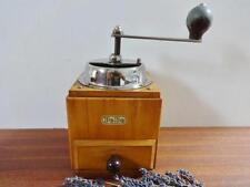 Vintage PeDe  wooden coffee grinder Peter Dienes