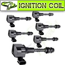 Pack of 6 New Ignition Coils for NISSAN ALTIMA MAXIMA 3.5 L 4.0L V6 UF349 C1406