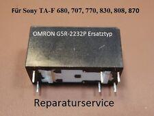 Für Sony TA-F870, TA-F808, TA-F870 Speaker-Relais  Ersatztyp