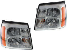 Cadillac Escalade 03 04 05 06 Hid Type Head Light With Ballast And Bulb Pair