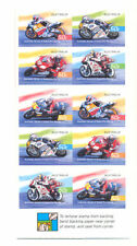 Australia-Motorcycles Grand Prix races mnh booklet complete