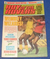 ROY OF THE ROVERS COMIC 25TH SEPTEMBER 1982  SIGN PLEASE TERRY FENWICK