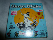 NEW SEALED 8MM HOME COLOR MOVIE SNOW WHITE THE APPLE COLUMBIA PICTURES FF-5C NIB