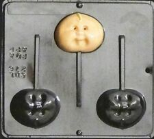 Cabbage Baby Lollipop Chocolate Candy Mold Baby Shower 276 NEW