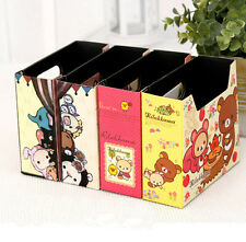 Cute Makeup Cosmetic Stationery DIY Paper Board Storage Desk Organizer Box JC