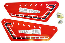 Fantic 200 REAR KICK Trials Twinshock Side Panels And Sticker Kit