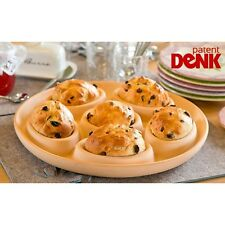 Roll Buns Bakery - The Patented Baking Dish Ceramic Bun Pan Form Natures Oven