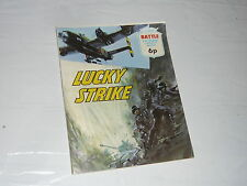 Battle Picture Library Comic Magazine No691 Lucky Strike Handley Page HalifaxWW2