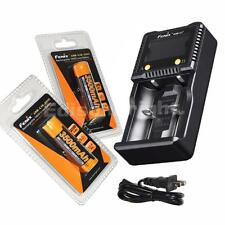 Fenix ARE-C1+ Plus dual channel smart battery charger w/ 2 X ARB-L18-3500 18650