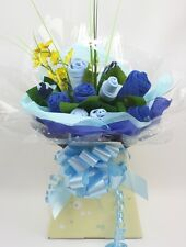 Baby Boy Clothing Bouquet Gift Set Blue Next Day Dispatch