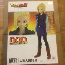 MegaHouse DOD Dimension of DRAGONBALL Dragon Ball Z Android #18 w/ Initial Bonus