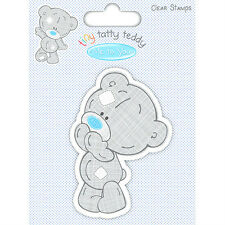 Me to you TINY TATTY TEDDY BOY CHARACTER CLEAR STAMP,SURPRISED BEAR,CARDS,CRAFTS