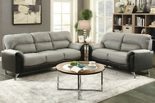 Modern 2 piece Sofa Couch Loveseat Set Love Seat Living Room
