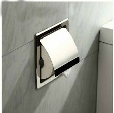 Modern In Wall Mounted Bathroom Toilet Paper Holder Waterproof Roll Paper Holder