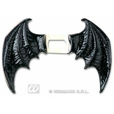 Bat Wings Black Maxi for Halloween Vampire Fancy Dress