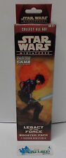 Gioco Game Star Wars Miniatures Booster Pack Miniature New LEGACY OF THE FORCE A