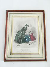 1)-gravure ancienne mode  -  le magasin des familles  -
