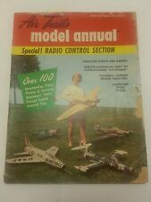 Air Trails Model Annual 1959 Edition RC Magazine Vintage Hobby